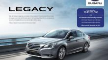 Christmas Comes in November for the Subaru Legacy