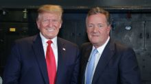 Piers Morgan boasts Donald Trump got up especially to watch 'GMB'