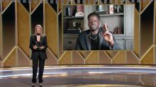 Golden Globes Results 2021: Daniel Kaluuya hit by video call problem during acceptance speech