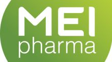 MEI Pharma to Present at Stifel 2017 Healthcare Conference