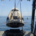 SpaceX splashdown marks successful end to first U.S. commercial crew mission