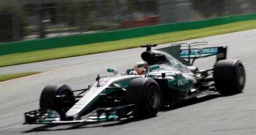 F1 - GP d'Australie - Lewis Hamilton est parti en trombe en Australie