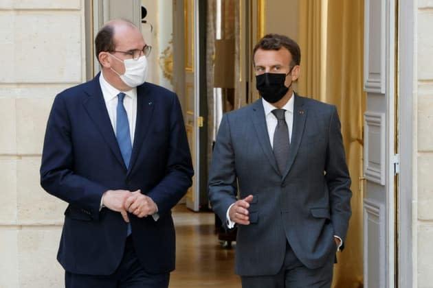 La popularité d'Emmanuel Macron et de Jean Castex en hausse en octobre