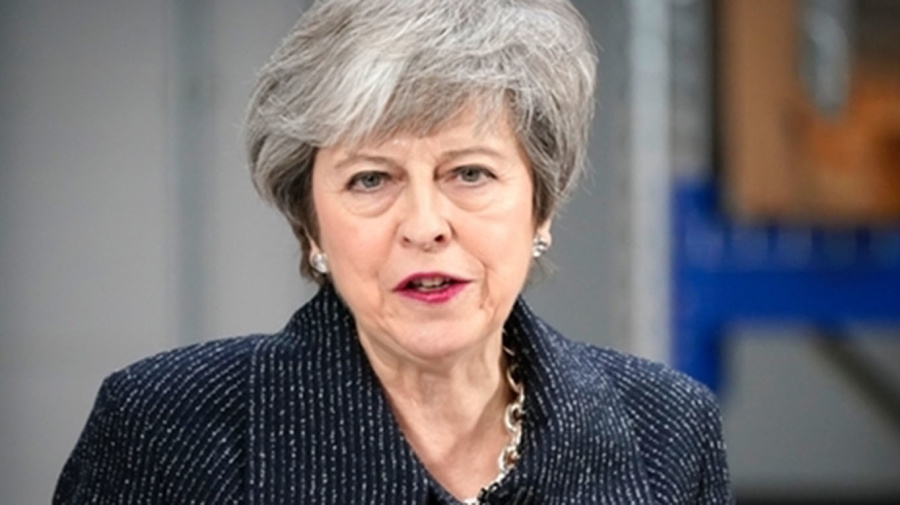 'May seeking Brexit delay of 3 months to two years'
