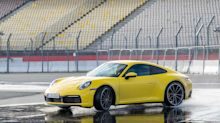 New Porsche 911 detects wet roads, helps you stay stable