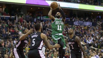 Irving's deep dagger extends Celtics' streak
