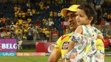 IPL 11   Ziva Celebrates Chennai Super Kings' Win With Papa Dhoni