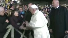 Pope Apologises For 'Losing Patience' With Well-Wisher Who Grabbed His Hand