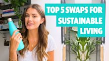 Top 5 swaps for sustainable living