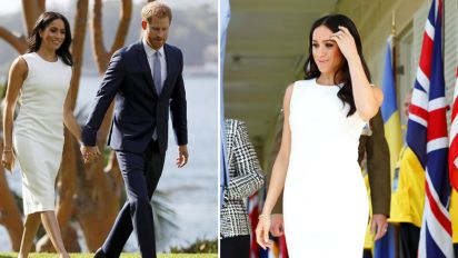 Meghan's first appearance after pregnancy news
