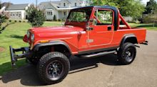 Go Anywhere In This Updated 1982 Jeep CJ-8