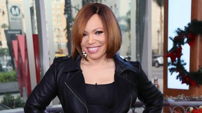 Actress Tisha Campbell Tearfully Reunites with Long-Lost Family Member on The Real