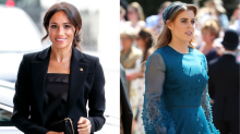Princess Beatrice takes style cue from Meghan Markle in identical pleated skirt