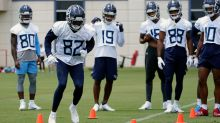 Mike Vrabel: Titans' WR competition wide open behind top three