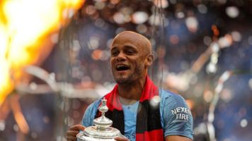 Vincent Kompany to leave Man City: Premier League club confirm captain will not sign a new contract after FA Cup win