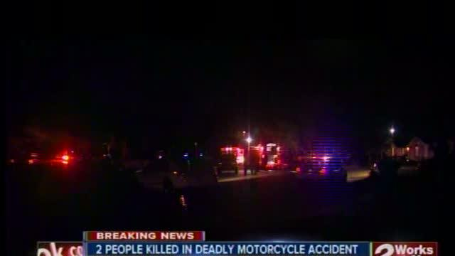 2 Killed in Motorcycle Accident