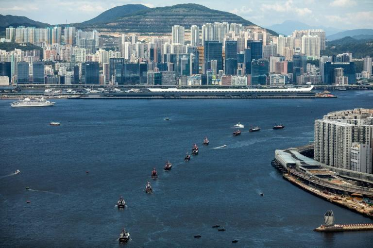 Hong Kong enjoys rights and freedoms different to mainland China (AFP Photo/DALE DE LA REY)