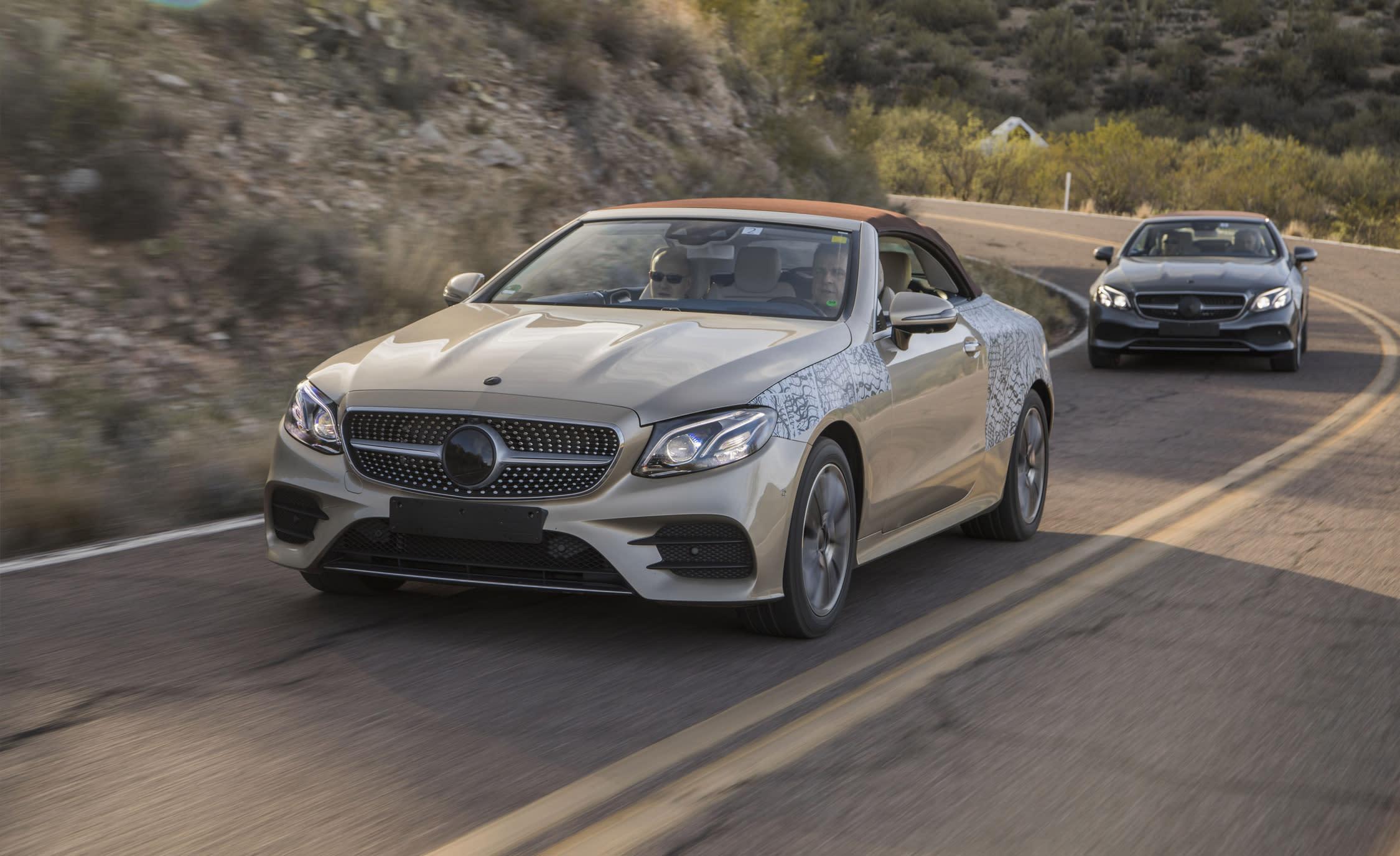 2018 MercedesBenz Eclass Cabriolet