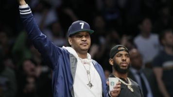 Carmelo's attitude now is 'totally different'