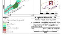 Altiplano Reports Sampling 11.33% Cu over 2.55 m and removes 1,680 of the 5,000 tonne bulk sample the Historic Farellon Copper-Gold Mine in Chile