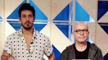 Aos gritos, João Vicente de Castro e Marcelo Tas discutem nos bastidores do 'Papo de Segunda'