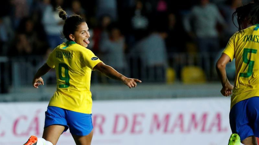 "La ""Canarinha"" de Pia Sundhage golea a Ecuador 6-0 en amistoso"