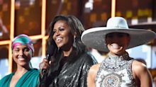 Michelle Obama's mom was not impressed by her Grammys gig: 'Did you meet any of the real stars?'