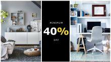 IKEA's having a massive 40 per cent off sale