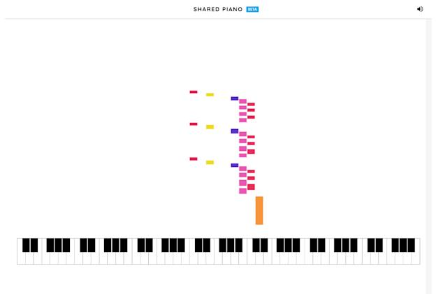 Google's latest Chrome experiment lets you jam on a piano with friends