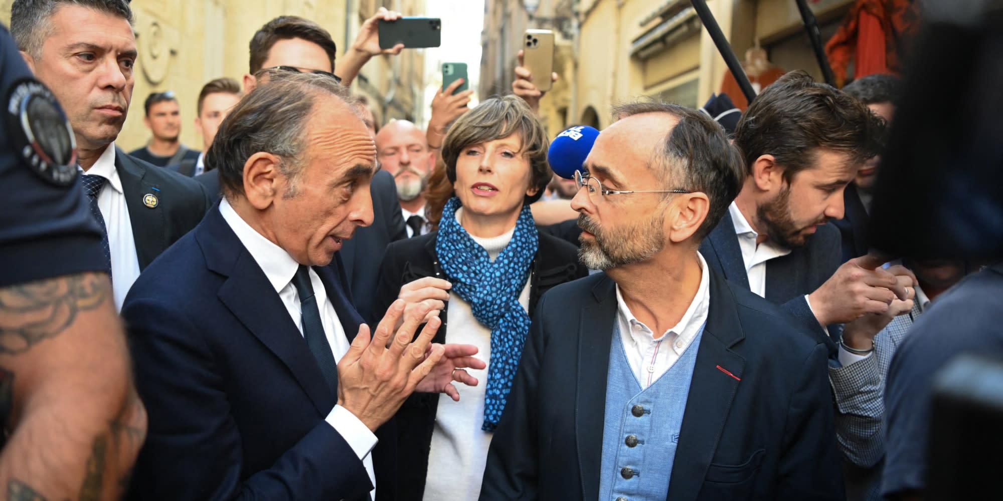 """""""Tout seul, il n'y arrivera pas"""" : à Béziers, Zemmour appelé à s'unir avec Marine Le Pen"""