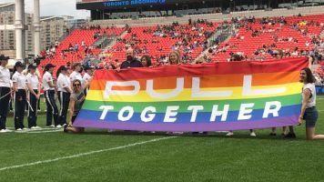 Toronto Argos celebrate diversity, inclusion on You Can Play Night