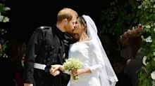 Prince Harry and Meghan Markle's whispered words before first kiss revealed