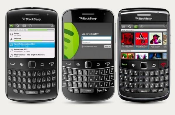 Spotify releases preview app for BlackBerry users, but not all of them