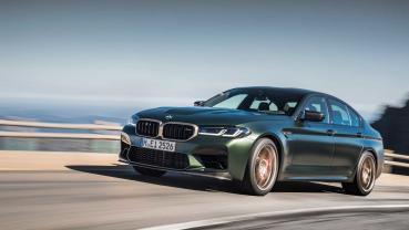 2022 BMW M5 CS 正式登場!帶著大量的碳纖維配件與更強的性能