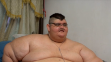 The world's most obese man is attempting to lose weight
