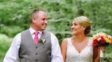 Bride has the best reaction after finding out strangers crashed her wedding