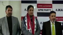 Newly elected Srinagar's  mayor  Junaid Azim Mattu joins J-K Apni Party