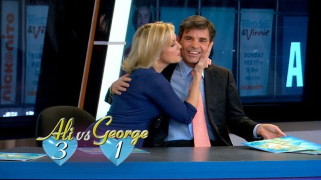 Ali Wentworth, George Stephanopoulos 'Not So Newlywed Game'