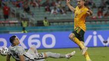 Foot - Euro - Le but d'Aaron Ramsey (pays de Galles) face à la Turquie à l'Euro en vidéo