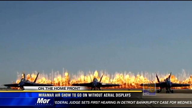 Miramar Air Show to go on without aerial display
