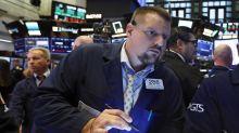 US STOCKS-Wall Street down as global growth worries hit tech stocks