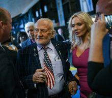 Buzz Aldrin has landed -- for the Apollo 11 anniversary