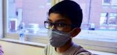 Abhinav, an Ohio seventh grader who volunteered for a COVID-19 vaccine trial. (NBC)