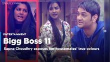 Sapna Choudhary exposes her Bigg Boss housemates' true nature