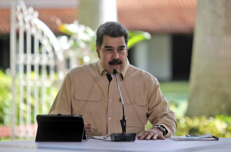 Maduro announces arrest of 'American spy' near Venezuelan refineries