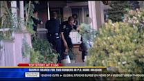 Suspect search for two robbers in PB home invasion