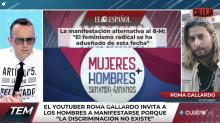 La agresión a un youtuber en contra del feminismo evidencia la fractura social en España