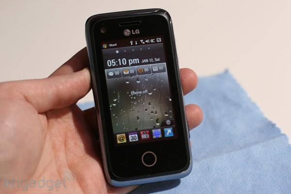 LG GM730 hands-on (with video!)