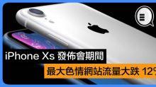 iPhone Xs 發佈會期間,最大色情網站流量大跌 12%!