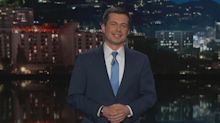 Best moments from Pete Buttigieg's guest host stint on 'Jimmy Kimmel Live'